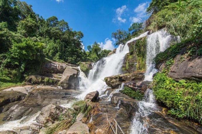 mae klang waterfall doi inthanon - chiang mai