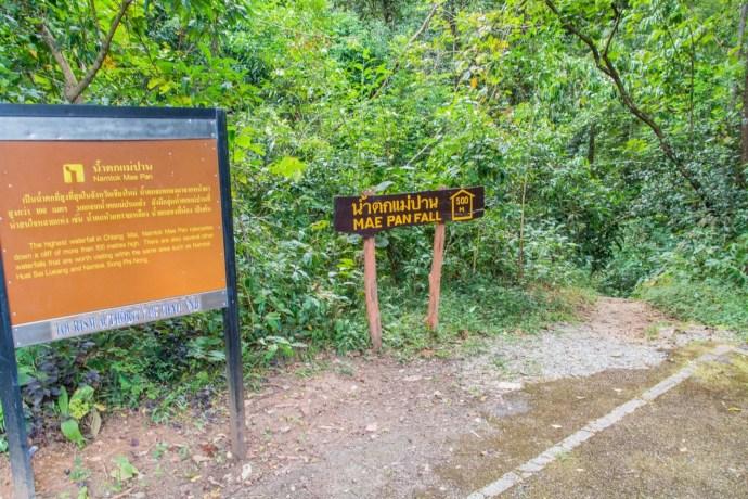 mae pan waterfall doi inthanon - chiang mai