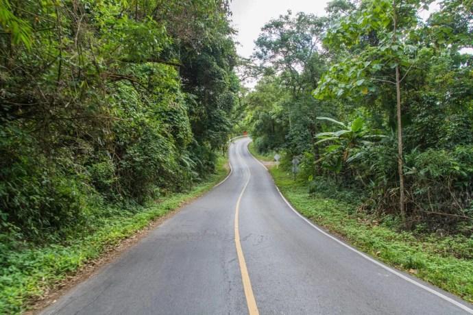 route doi inthanon - chiang mai