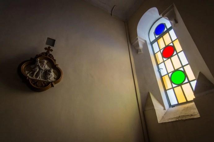 intérieur de la chapelle notre-dame de penha - macao