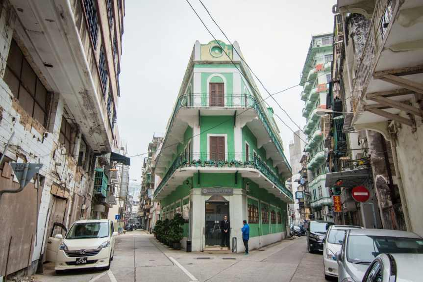 rue vieille ville - macao