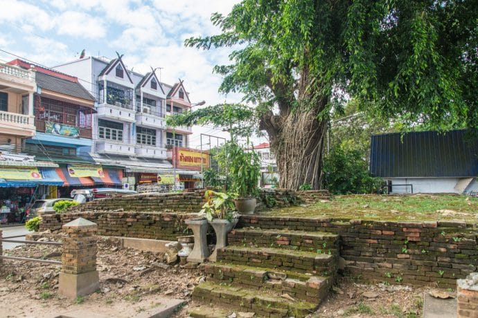 ruines chiang saen - thailande