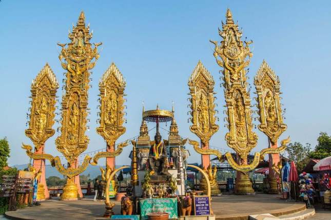 golden triangle triangle d-or - thailande