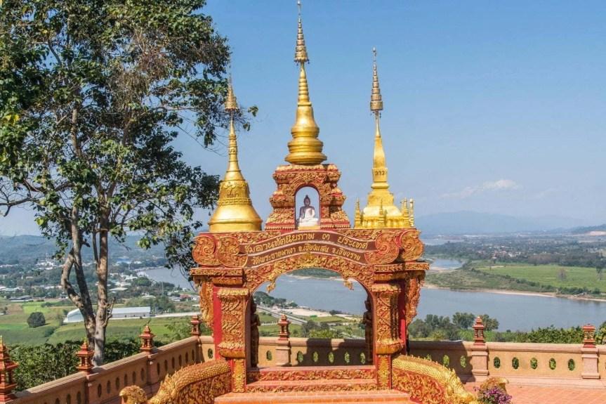 vue wat phra that pha-ngao - chiang saen - thailande