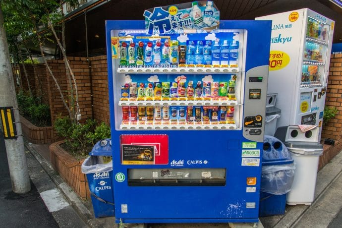 machine boisson japon