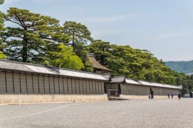 mur enceinte palais imperial kyoto