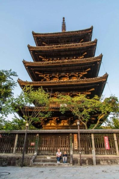 pagode du hokanji - quartier higashiyama kyoto