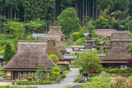 village de kayabuki no sato japon