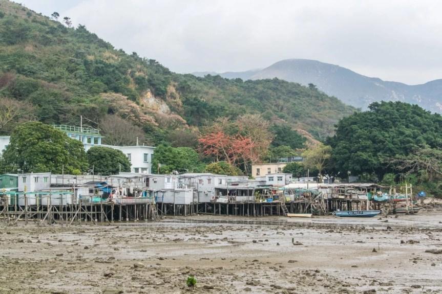 couleurs village tai o - lantau island hong kong