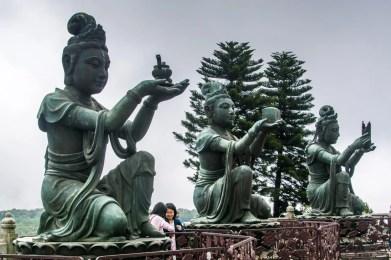 statue tian tan - lantau island hong kong