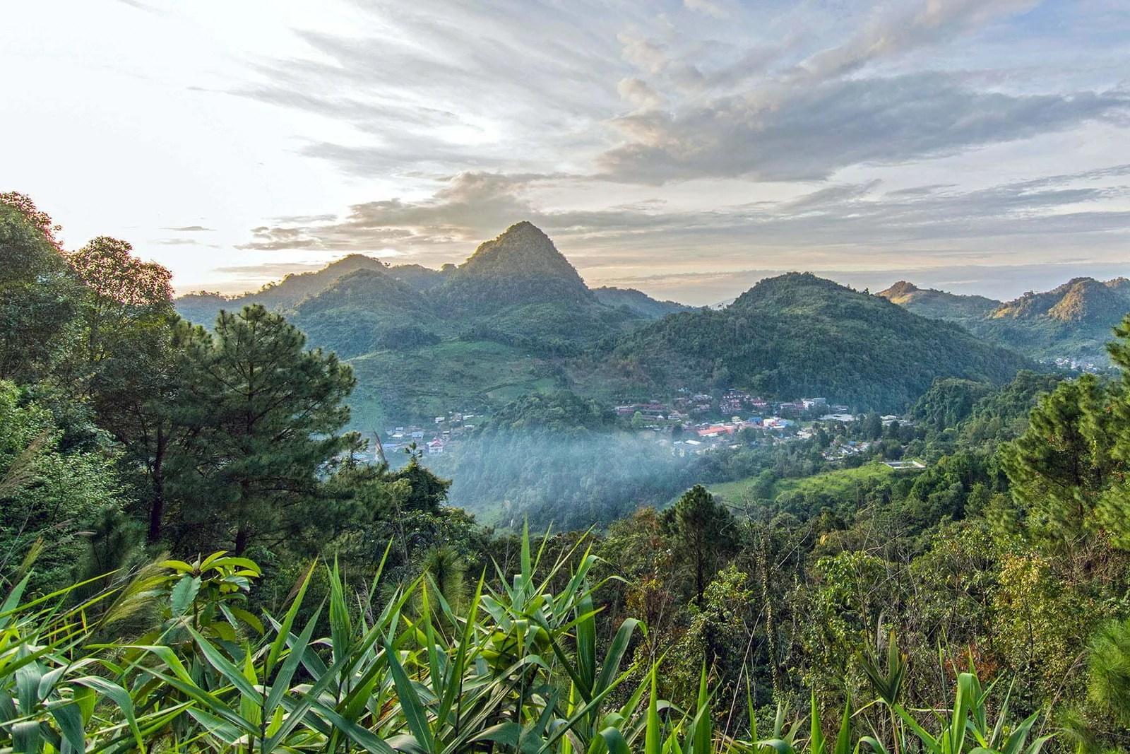 vue village doi ang khang nord thailande