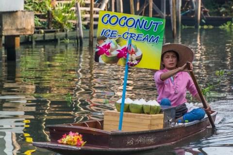 coconut marché flottant damnoen saduak