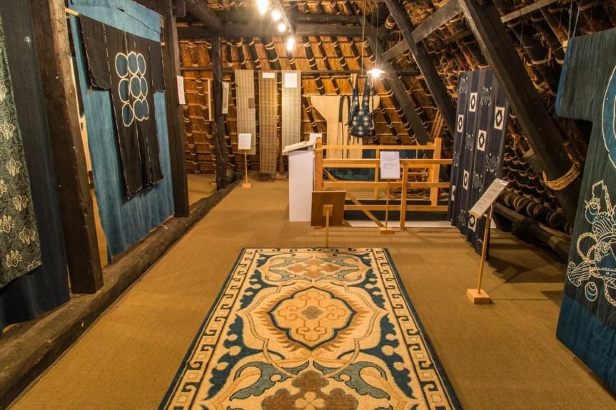 collection little indigo museum village miyama kayabuki-no-sato - kyoto prefecture japon