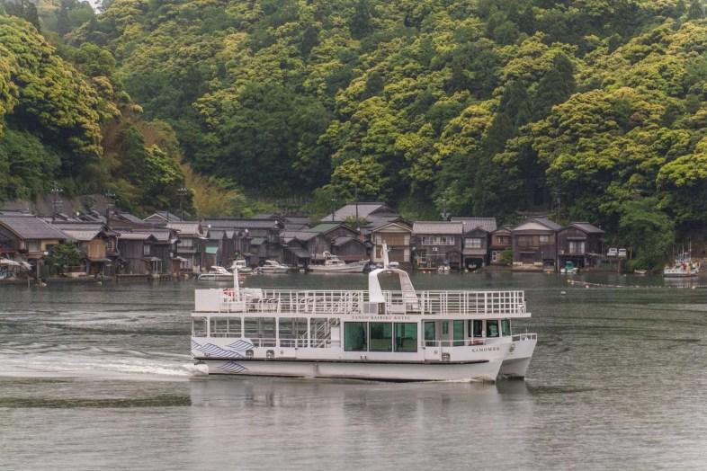 navette bateau village ine - japon