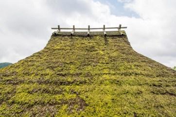 toit de chaume village miyama kayabuki-no-sato - japon