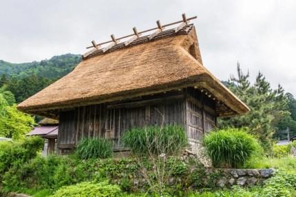 toit de chaume village miyama kayabuki-no-sato - kyoto prefecture japon