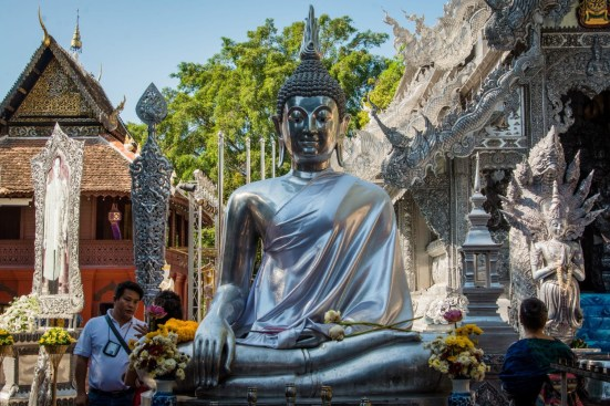 bouddha argent wat si suphan silver temple - chiang mai