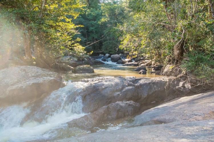 pha kluai mai waterfall khao yai - thailande