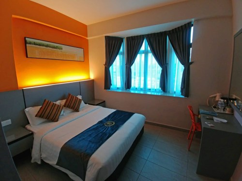 chambre travelland hotel - ipoh - malaisie