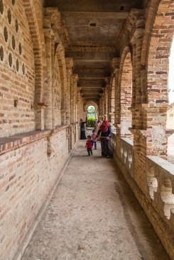 couloir exterieur kellies castle ipoh - malaisie