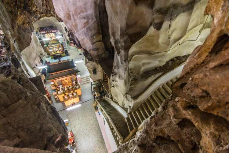grotte sam poh tong temple ipoh - malaisie