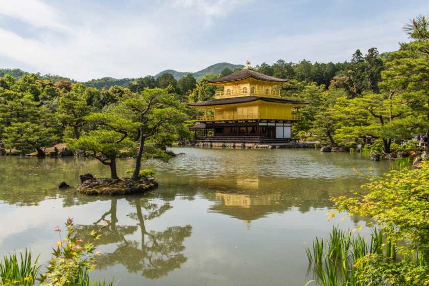 pavillon d'or kinkaku-ji kyoto - japon