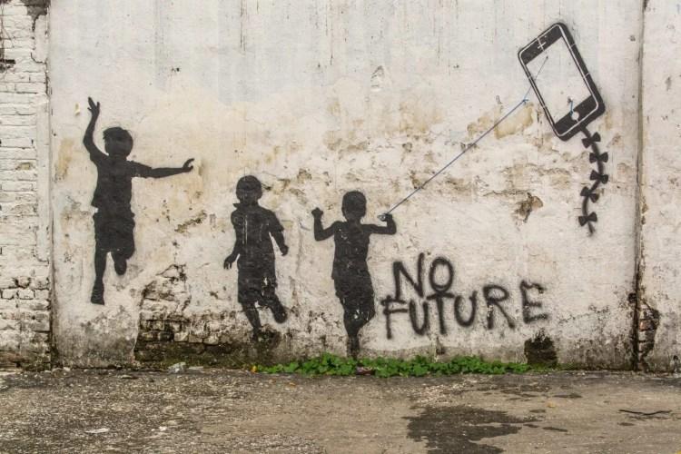 peinture no future ipoh - malaisie