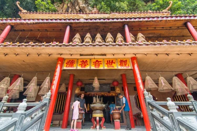 temple chinois ling sen tong - ipoh - malaisie