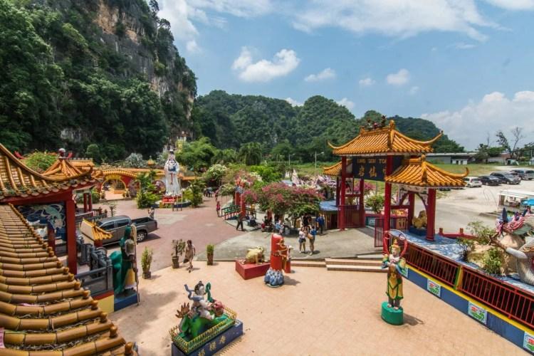 temple ling sen tong - ipoh - malaisie