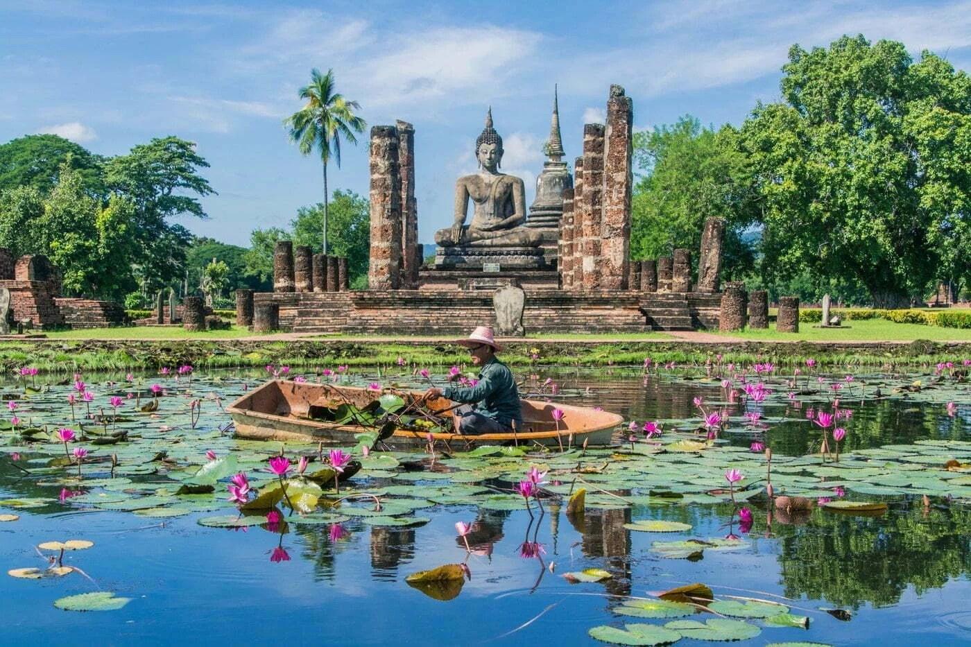 cover parc historique sukhothai - thailande