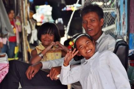 marché frontalier aranyaphrathet - thailande