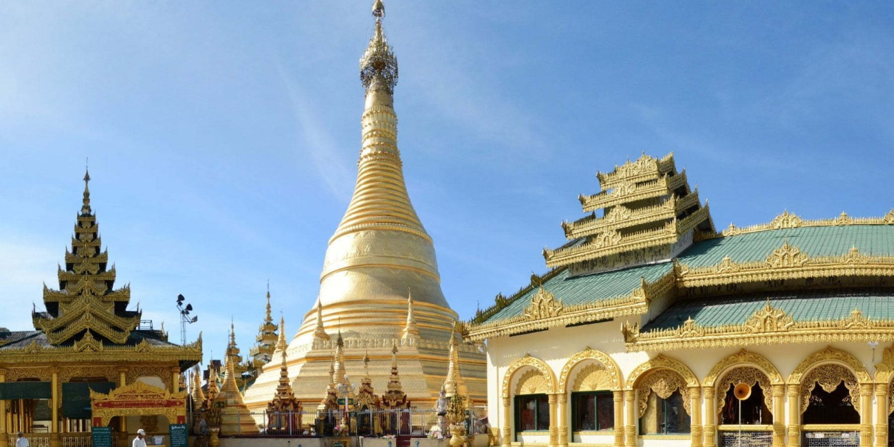 temple birman pathein - myanmar