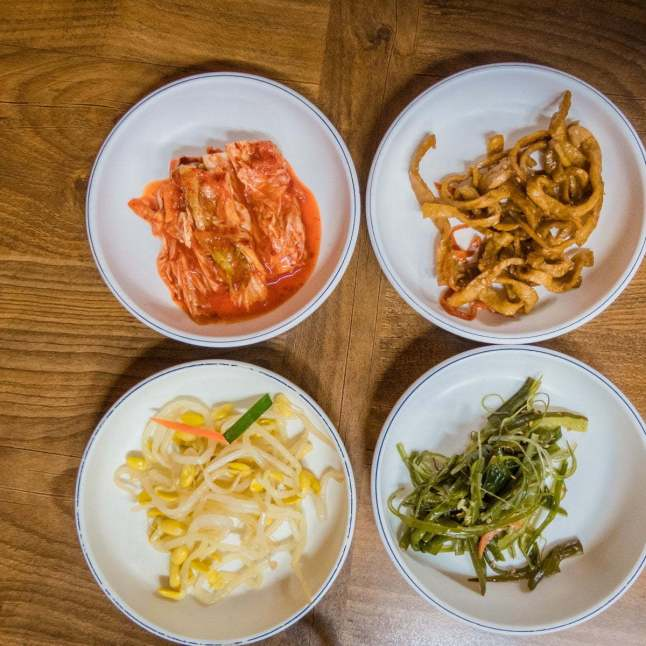 accompagnement repas coree du sud