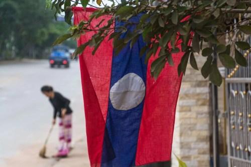 drapeau laotien luang namtha