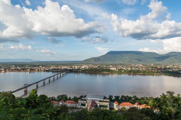 paysage pakse sud laos