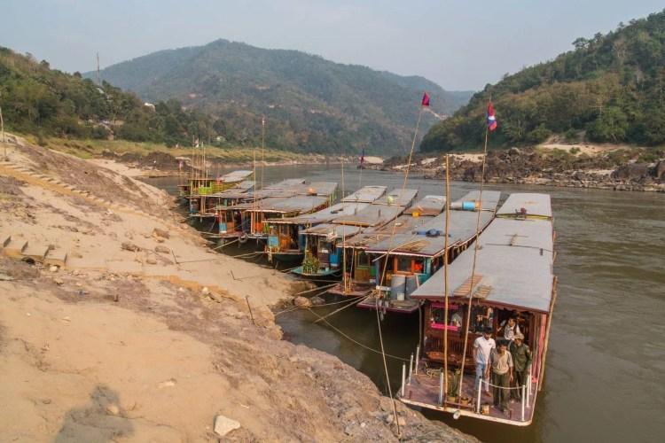 slow boat croisiere mekong laos pakbeng