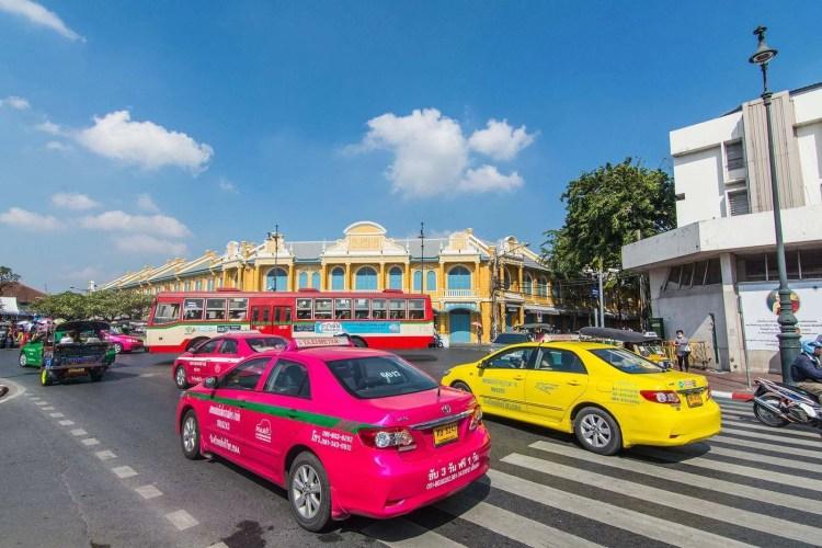 transports en communs grand palais bangkok