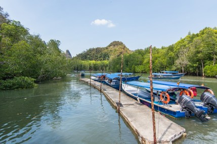 depart bateaux kilim geopark langkawi - malaisie
