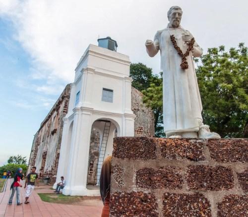 église saint paul malacca - malaisie