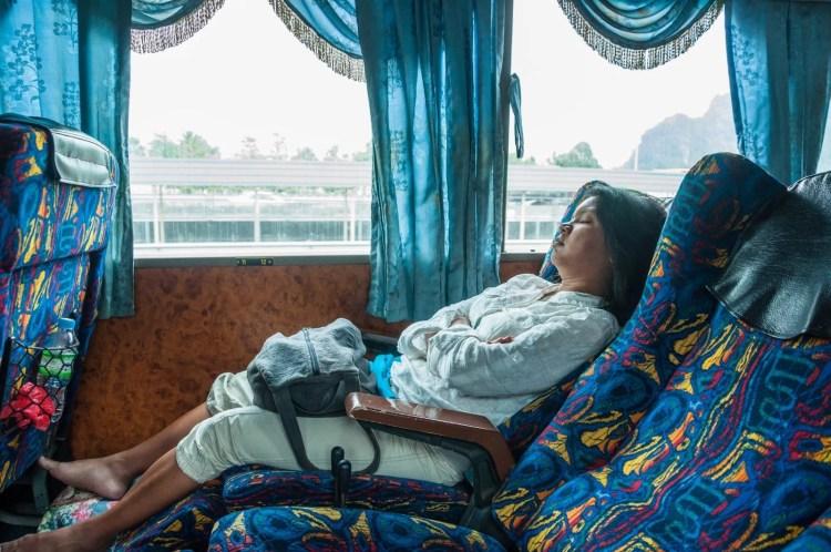interieur bus penang cameron highlands