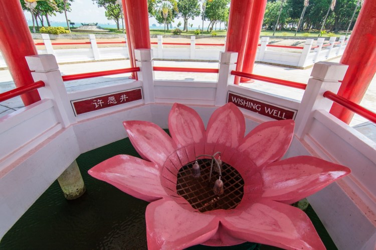 puits a voeux temple chinois kusu island singapour