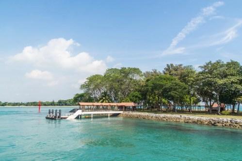 quai kusu island singapour