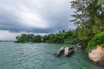 rivage chek jawa pulau ubin singapour