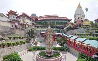 temple bouddhiste kek lok si - penang - malaisie