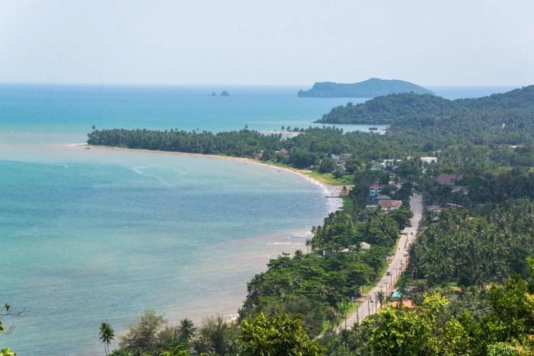 point de vue pharadonphap beach - khao matsee viewpoint chumphon
