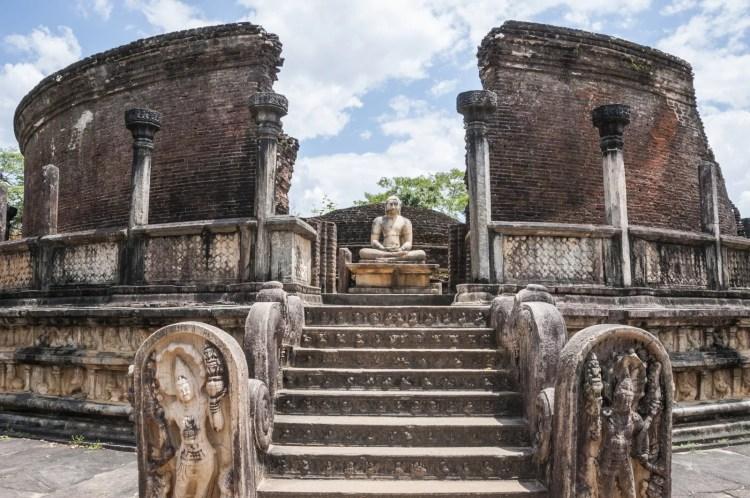 site vatadage polonnaruwa - sri lanka