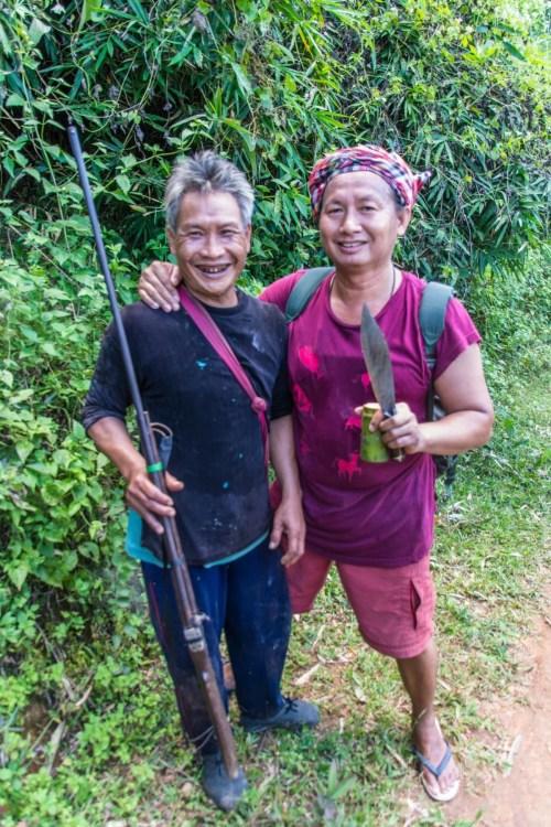 guide et homme local chiang mai - thailande