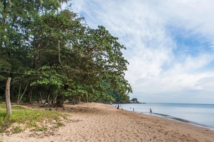 plage krathing laem sing forest park - chanthaburi