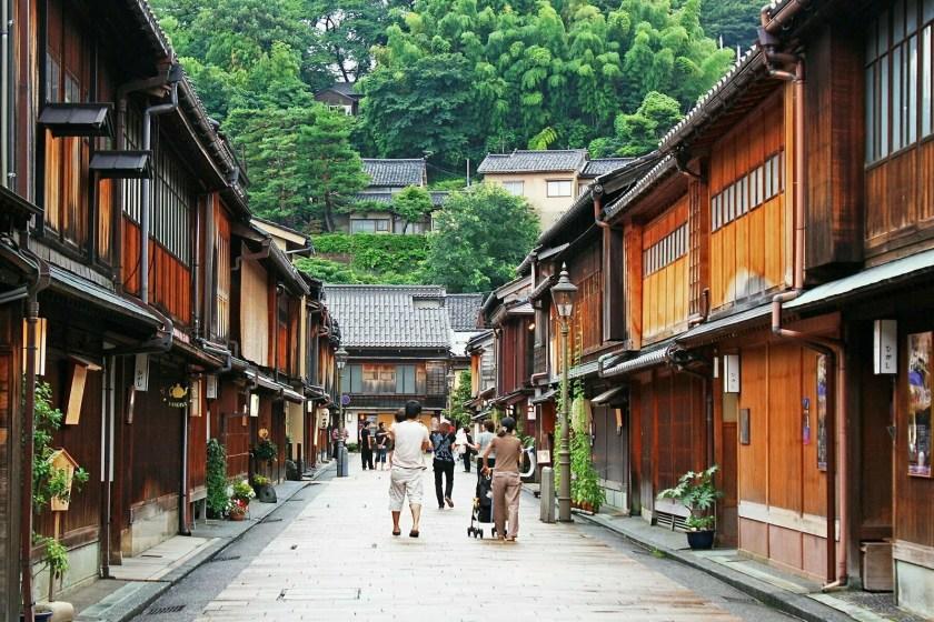 vieux quartier higashi chaya kanazawa japon