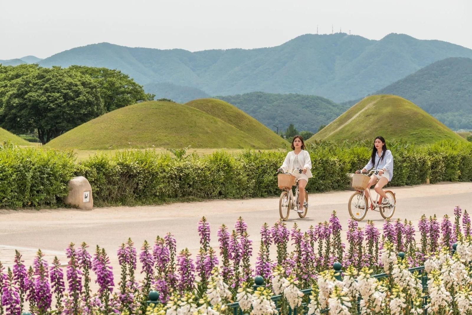 cover gyeongju jour 2 - tombes - coree du sud